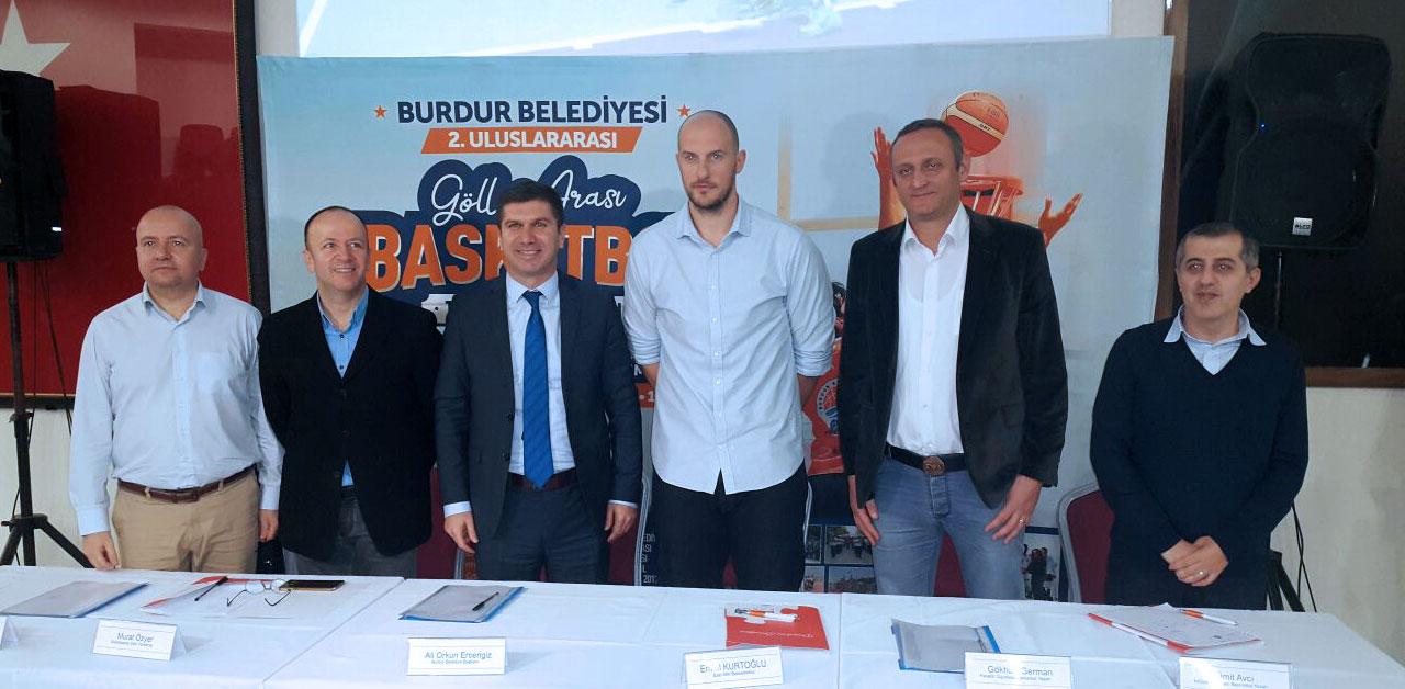 Burdur 2. Uluslararası Göller Arası Basketbol Turnuvası Basın Lansmanı