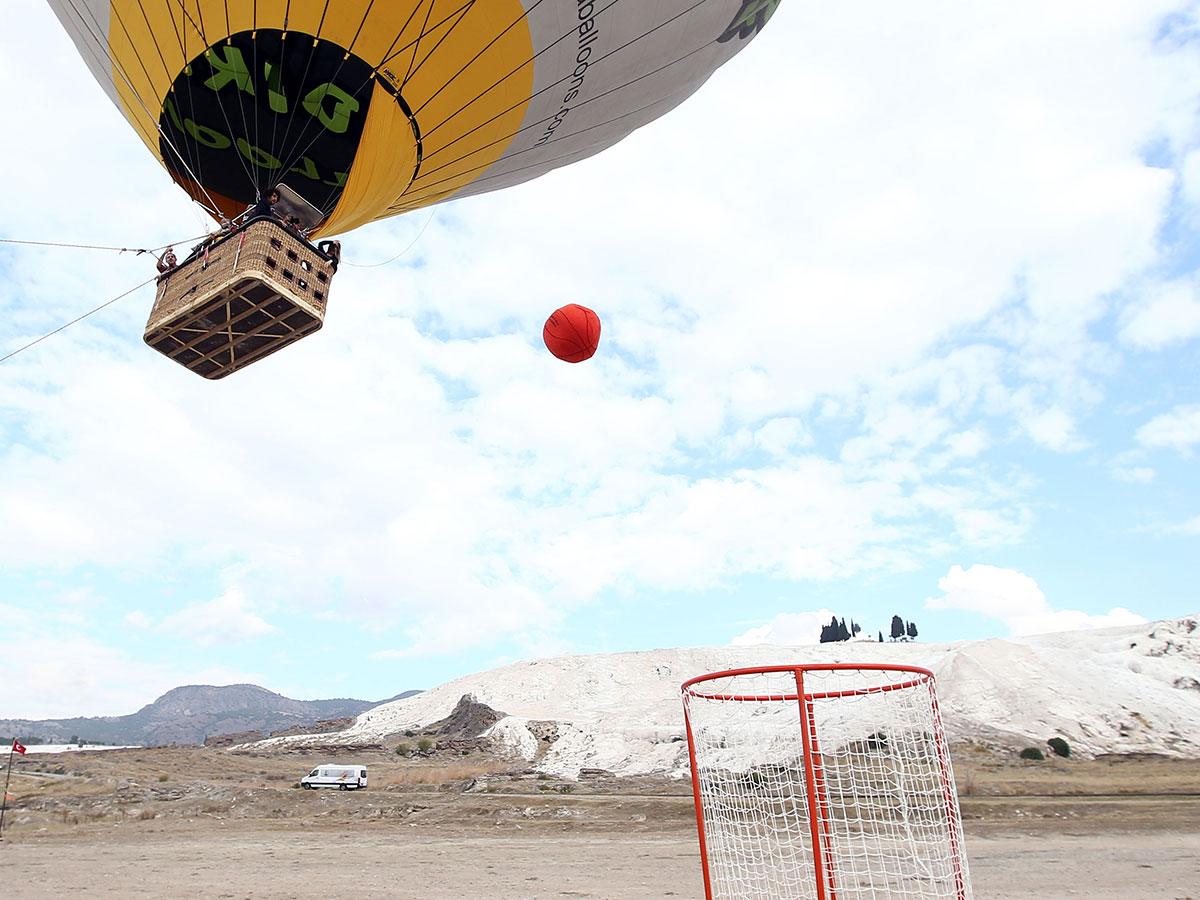 Balondan Basket Atma