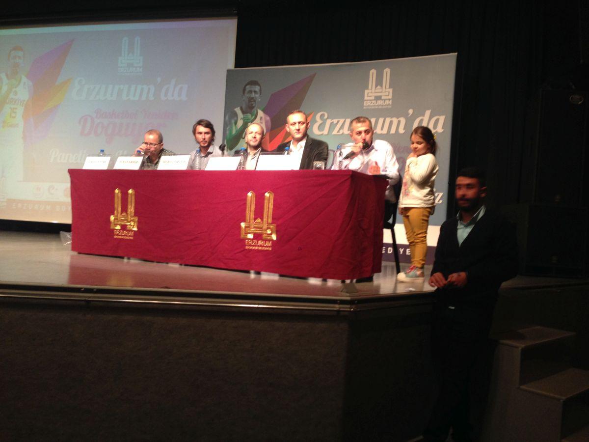 Erzurum Basketbol Yeniden Doğuyor Paneli