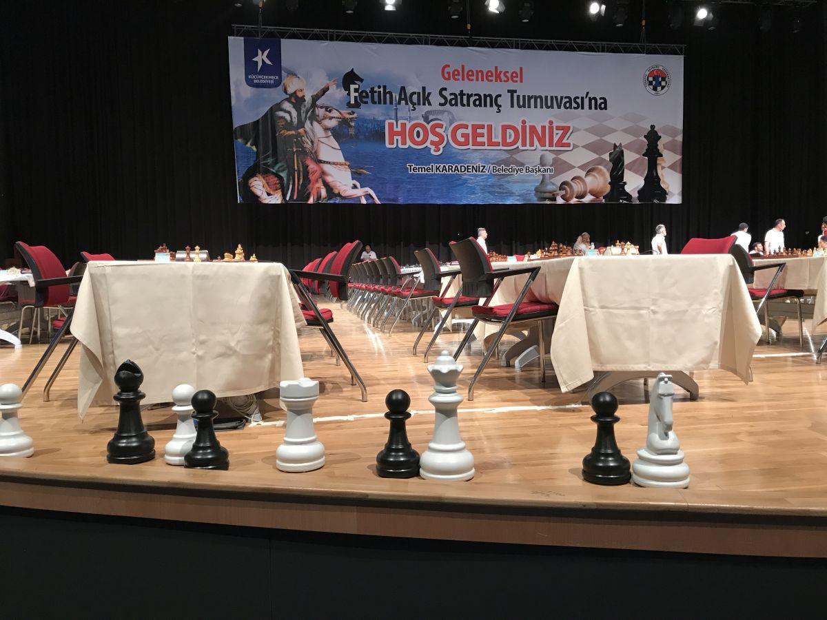Küçükçekmece Fetih Açık Satranç Turnuvası