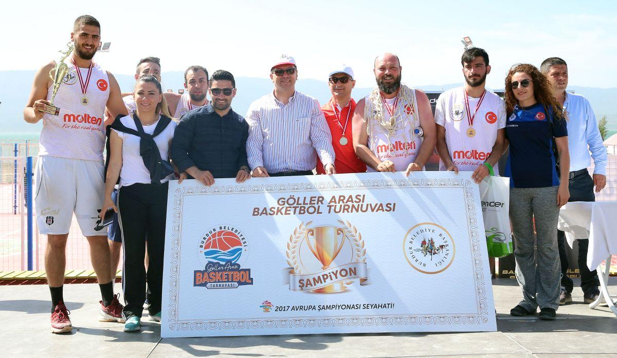 Burdur Göller Arası Basketbol Turnuvası 2017