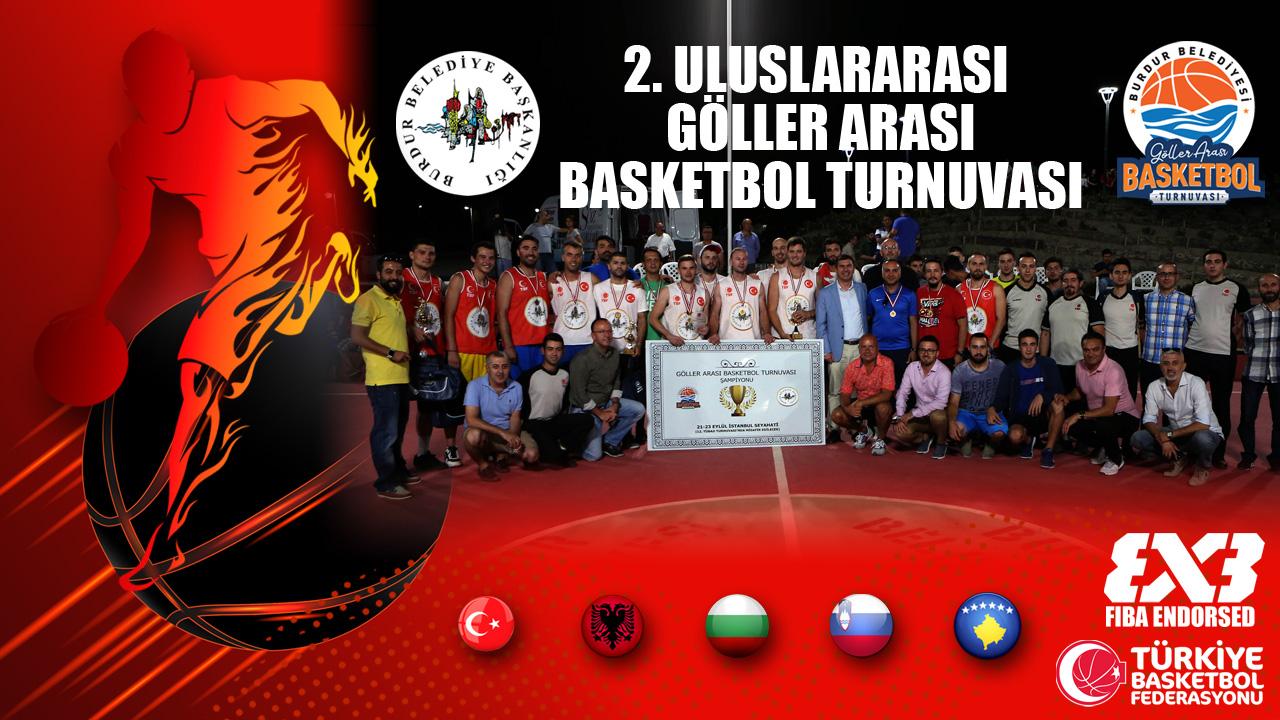 Burdur 2. Uluslararası Göller Arası Basketbol Turnuvası 2018