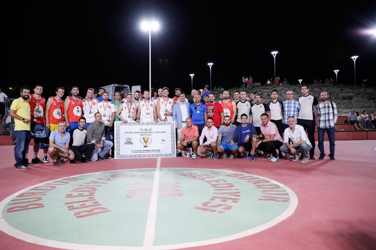 2. Uluslararası Göller Arası Basketbol Turnuvası (Sports TV)