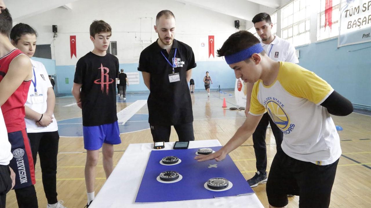 Burdur'da Sporcu Performans Ölçüm ve Yetenek Testleri (Sports TV)