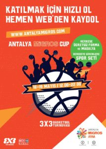 Antalya 3x3 Basketbol Turnuvası